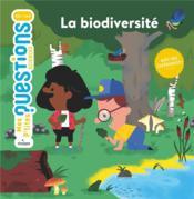 La biodiversité - Couverture - Format classique