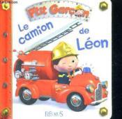 P'tit Garçon ; le camion de Léon - Couverture - Format classique