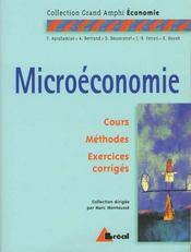 Microéconomie - Intérieur - Format classique