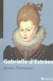 Gabrielle d'estrees aux marches du palais - Intérieur - Format classique