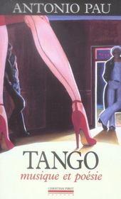 Tango, musique et poésie - Intérieur - Format classique