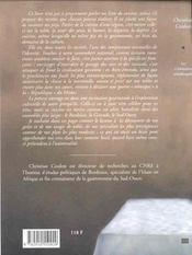 Cuisinier Medoquin (Le) - 4ème de couverture - Format classique