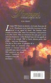 Flamboyant - Tome 1 - Croisade Pour Un Cheval - 4ème de couverture - Format classique