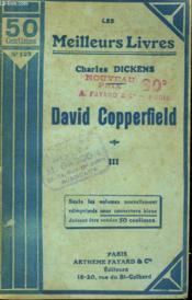 David Copperfield. Tome 3. Collection : Les Meilleurs Livres N° 127. - Couverture - Format classique