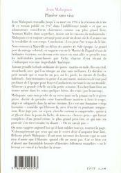 Planete sans visa roman - 4ème de couverture - Format classique