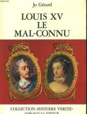 Louis Xv, Mal-Connu - Couverture - Format classique