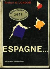 Espagne... - Couverture - Format classique