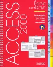 Access 2000 - Couverture - Format classique