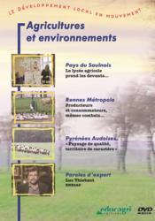 Agricultures et environnements (dvd) - Couverture - Format classique