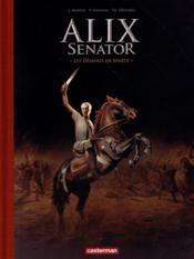 Alix senator T.4 ; les démons de Sparte - Couverture - Format classique
