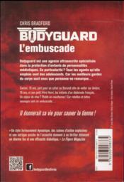 Bodyguard T.3 ; l'embuscade - 4ème de couverture - Format classique