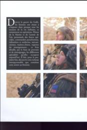 L'armée au féminin, ces femmes qui font l'armée francaise du XXIe siècle - 4ème de couverture - Format classique