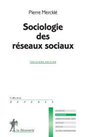 Sociologie des réseaux sociaux - Couverture - Format classique