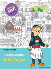 Le grand coloriage de Bretagne - Couverture - Format classique