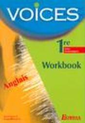 Voices 1re st tp 2002 - Couverture - Format classique