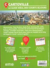 Londres (édition 2020) - 4ème de couverture - Format classique