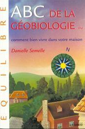 Abc de la geobiologie - Intérieur - Format classique