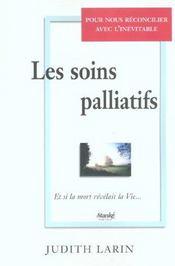 Les soins palliatifs - Intérieur - Format classique
