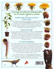 L'encyclopedie de la nature - 4ème de couverture - Format classique