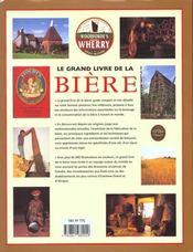 Grand Livre De La Biere (Le) - 4ème de couverture - Format classique