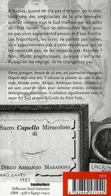 Naples - 4ème de couverture - Format classique