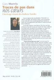 Traces de pas dans nos coeurs ; l'héritage vivant des Indiens Yrocks - 4ème de couverture - Format classique