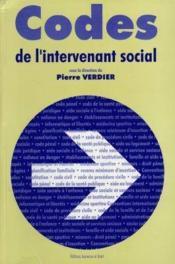 Codes De L'Intervenant Social - Couverture - Format classique