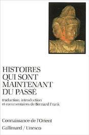Histoires Qui Sont Maintenant Du Passe - Couverture - Format classique