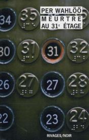 Meurtre au 31e étage - Couverture - Format classique