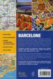 **Barcelone - 4ème de couverture - Format classique