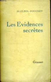 Les Evidences Secretes - Couverture - Format classique