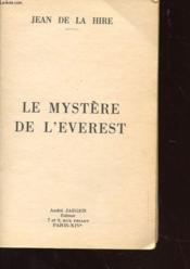 Le Mystere De L'Everest - Couverture - Format classique