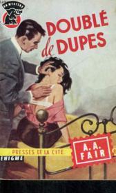 Double De Dupes - Couverture - Format classique