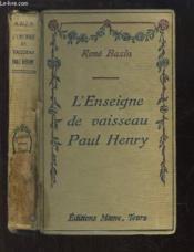 L'Enseigne de vaisseau Paul Henry - Couverture - Format classique
