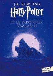 Harry Potter T.3 ; Harry Potter et le prisonnier d'Azkaban - Couverture - Format classique