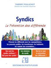 Les syndics ; prévenir les différends - Couverture - Format classique