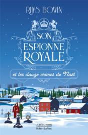 Son espionne royale et les douze crimes de Noël - Couverture - Format classique