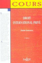 Droit international privé - Intérieur - Format classique
