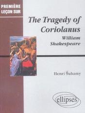 The tragedy of coriolanus ; william shakespeare - Intérieur - Format classique
