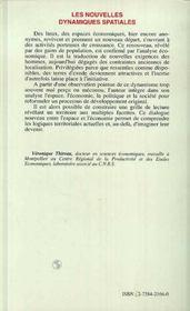 Les Nouvelles Dynamiques Spatiales ; A La Redecouverte Des Territoires - 4ème de couverture - Format classique
