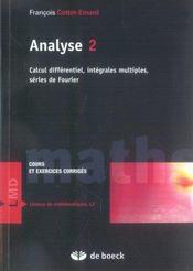 Analyse 2 t.2 - Intérieur - Format classique