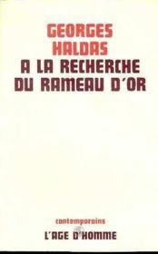 A La Recherche Du Rameau D'Or - Couverture - Format classique