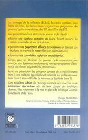 Macroeconomie Tome 2 La Monnaie - 4ème de couverture - Format classique