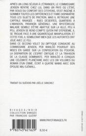 Arche d'acier - 4ème de couverture - Format classique