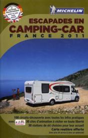 Escapades en camping-car France 2011 - Couverture - Format classique