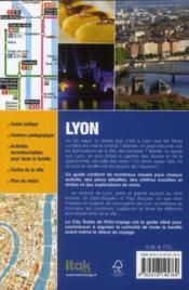 **Lyon - 4ème de couverture - Format classique