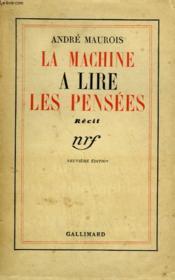 La Machine A Lire Les Pensees. - Couverture - Format classique