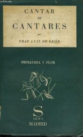 Cantar De Cantares - Couverture - Format classique