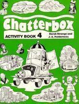 Chatterbox 4: Activity Book - Couverture - Format classique