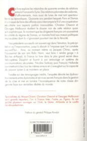 Les chemins de Damas ; le dossier noir de la relation franco-syrienne - 4ème de couverture - Format classique